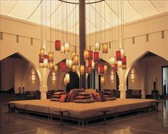 The Chedi Muscat - Lobby