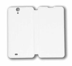 Hisense Cover U971. Carcasa delantera imitación piel y Carcasa trasera de plástico. Blanco #smartphone #Hisense #cover #carcasa #accesorios #blanco #tecnología #U971