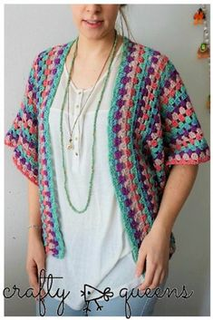 Crochet Rabbithole Cardigan – Free Pattern!