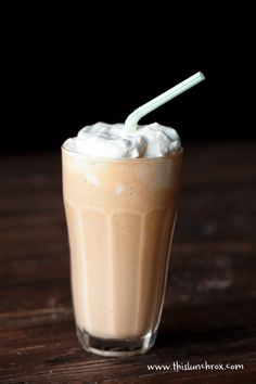 Pumpkin Cheesecake Shake by Maria Emmerich    1 cup unsweetened vanilla almond milk  1/2 cup canned pumpkin  2 oz cream cheese or coconut cream  2 TBS Swerve or 1 tsp stevia glycerite (or more to taste)  1 scoop Jay Robb vanilla whey or egg white protein  1 cup crushed ice