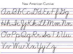 (Penmanship Program) New American Cursive: natural-right slant is easier for beginners and left-handers. If the slant is too far right it can be difficult for lefties. Writing absolutely vertically is tiring and can slow down the writing.