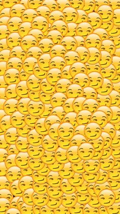 Smirking emoji wallpaper for iPhones