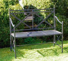 Bank Hyde Park - empfunden nach den englischen Originalen aus dem weltberühmten Park, gefunden auf www.country-garden.de