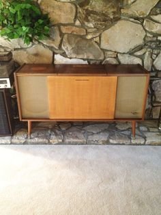 Mid Century Modern Stereo Console/ Grundig by KaliforniaVintage, $750.00