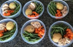 Want to assemble a week's worth of healthy meals? Use this step by step-by-step guide to make these 260 calorie dinners.