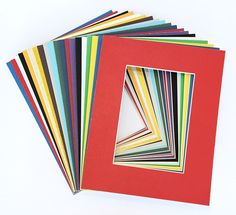 Pack of 20 MIXED COLORS 16x20 Picture Mats Matting with White Core Bevel Cut for 11x14 Pictures *** To view further for this item, visit the image link. (This is an affiliate link and I receive a commission for the sales) #PictureFrames