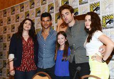 Twilight gang with Stephanie Myers
