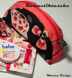 Anleitung/Schnittmuster für eine Kosmetiktasche - Tutorial Sewing a cosmetic bag