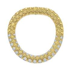 A DIAMOND AND GOLD NECKLACE, BY DAVID WEBB  l Christie's Magnificent Jewels - Sale # 2736 - 15th of October 2013 at Rockefeller Plaza, New York. Click to register for online bidding!