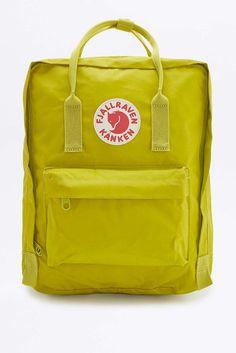 Fjallraven Kanken Classic Birch Green Backpack