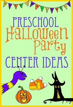 Halloween Party Center Ideas for Preschool/Kindergarten - Tips from a Typical Mom