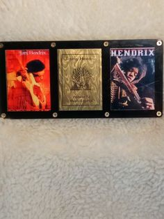 Jimmy Hendrix Collectors Plaque by Card Shark Collectibles