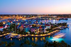 """""""The marina at Atlantis: Nassau, Bahamas"""" Less than 40 days we will be tendered here until midnight!! <3"""