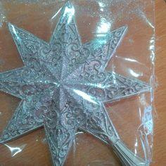 Puntal Estrella Plateada