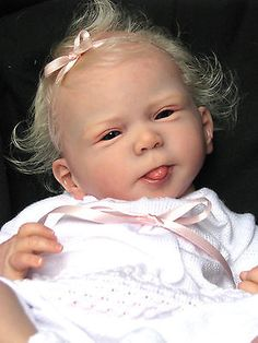 "Reborn Baby  Doll ""SOLD OUT"" Cathy by Olga Auer now ""Tessa"" ADORABLE"