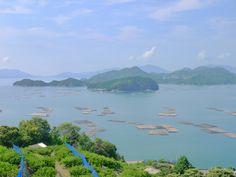 呉市安浦町:多島美 瀬戸内の景色