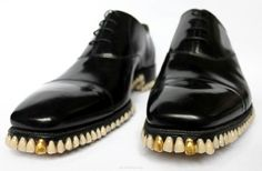 Apex Predator shoes.1050 real dentures.wtf. that is all I can say. wtf.is it bad that I kinda want a pair?