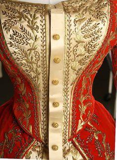 Up Close: Court Dress c.1900 Russia (X)