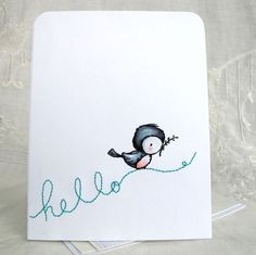 Card by Mel McCarthy using Stacey Yacula Studio stamps by Purple Onion Designs.