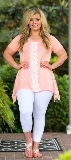 Peachy Keen Tunic - Peach - Perfectly Priscilla Boutique