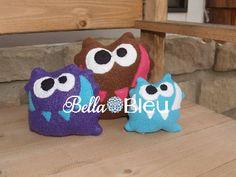Monster Stuffie Bella Bleu