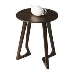 Chic and architecturally rich, the Inward Pose side table offers sophisticated style to any home. Place beside a couch for holidng drinks or a lamp. Or place it in the entryway for mail and keys.  Find the Inward Pose Side Table, as seen in the Mid-Century Luxe Collection at http://dotandbo.com/collections/mid-century-luxe?utm_source=pinterest&utm_medium=organic&db_sku=BUT0032