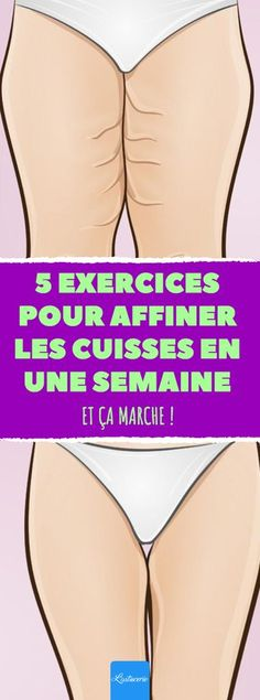 5 exercices pour affiner les cuisses en une semaine 5 exercises to refine the thighs in a week. Fitness Workouts, Yoga Fitness, Health Fitness, Fitness Men, Fitness Quotes, Body Challenge, Workout Challenge, Sixpack Abs Workout, Jessica Smith