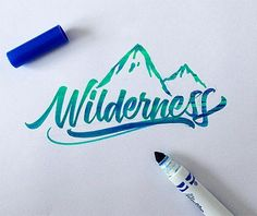... Crayola-Brush-Lettering-Examples-2 ...