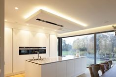 Küche Interior - Engelshove Seven Tips On Saving Energy in Your Home Few people realize that the ene Energy Saving Tips, Shade Trees, Energy Use, Cost Saving, Heating And Cooling, Küchen Design, Bauhaus, Windows And Doors, Minimalist