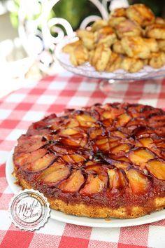 Erikli Ters Yüz Kek   Mutfak Sırları