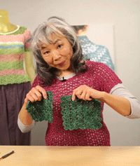 Learn How to Crochet Top-Down Sweaters - How to Crochet - Blogs - Crochet Me...she is an amazing crochet designer!!!!