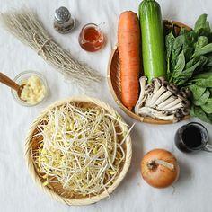 콩나물잡채 - 아내의 식탁 | 프리미엄 감성 레시피로 차려진 맛있는 식탁