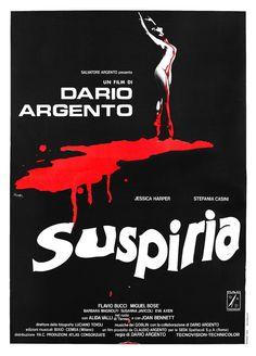 SUSPIRIA, by Dario Argento