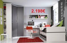 Habitat 111 Call for pricing. Kids Furniture, Furniture Design, Corner Desk, Locker Storage, Modern Design, Cabinet, Bedroom, Table, Home Decor