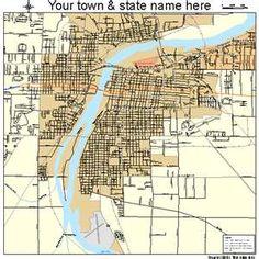 Bay City, Michigan Street Map 2606020