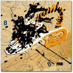 Trademark Fine Art Dynomite Canvas Art by Roderick Stevens, Size: 24 x 24, Multicolor