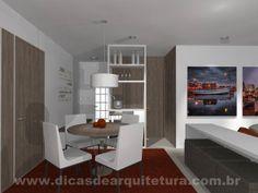 Sala feita para receber visitas. http://dicasdearquitetura.com.br/sala-ideal-para-receber-visitas/