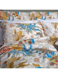 """Geisha Garden Tattoo"" Sheet Set by Sin in Linen"