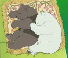 Confessions of a Rufflebutt Polar Bear Cafe, Fantasy Monster, We Bare Bears, Manga, Anime Shows, Anime Characters, Concept Art, Kawaii, Fan Art