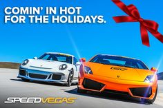 SPEEDVEGAS is the ultimate exotic supercar destination in Las Vegas. Check out the newest, hottest and fastest exotic driving experience located minutes away from the Las Vegas Strip! The biggest names in exotic cars can all be found on our exclusive 1.5-mile SPEEDVEGAS racetrack to include Lamborghini, Ferrari and Porsche. https://speedvegas.com/en/driving-experience-packages/category/supercar-combos/4