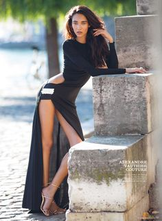 modern couture: daniela de jesus by benjamin kanarek for elle vietnam october 2014