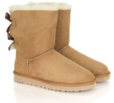 Pin for Later: The 18 Absolute Best Boots, Because Winter Is Coming Ugg Bailey Bow Chestnut Flat Boot Ugg Australia Authorised Retailer Bailey Bow Chestnut Women's Flat Boot (£158)