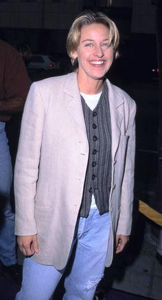 Pin for Later: A Nostalgic Look Back at Celebrities' Earliest Red Carpet Appearances Ellen DeGeneres, 1994