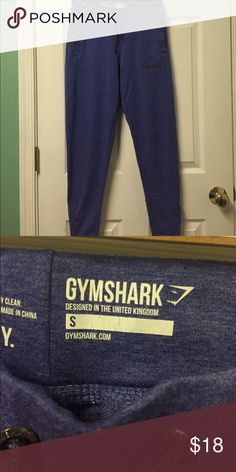 New Gymshark Purple Zip Legging Sweatpants Small Purple size small. Stretch tie waist. Skinny zip up ankles. K apr Gymshark Pants Track Pants & Joggers