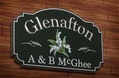 Glenafton House Sign / Danthonia Designs