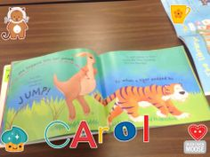 Draw & Tell by Duck Duck Moose. 1st grade students record their reading aloud!