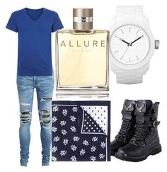"""""""#DangMattSmith"""" by that90girlmani ❤ liked on Polyvore featuring AMIRI, Hanro, Diesel, Alexander McQueen, Chanel, men's fashion and menswear"""