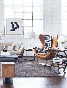 Get this look by shopping EB & Kris | Antibes Club Chair | ebandkris.com