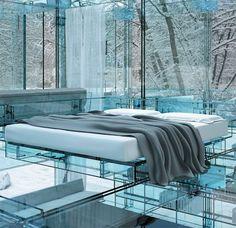 Modern Interior Glass House