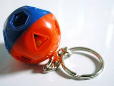 And I would have done anything for one of these! :-) tupperware keychains